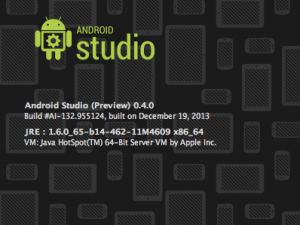 Android Studio About