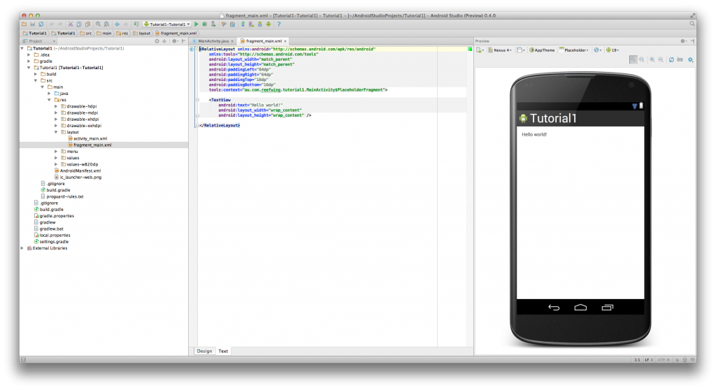 AndroidStudioIDE